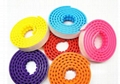 Dots Loops Plastic Tape Base Plate Bricks DIY Assembel Building Blocks Silicone