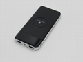 10000mAh Wireless Phone Charge External Battery Pack 5V 2A Slim Wireless battery