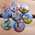 Cartoon Pin Broocher For Kids Peppa Moana Pokemon PJMask Paw Minion Elsa Emoji