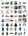 3D Kids Cartoon Temporary Tattoo Sticker Fake Waterproof Tatoo Paste Baby Gifts