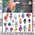 3D Kids Cartoon Temporary Tattoo Sticker Fake Waterproof Tatoo Paste Baby Gifts