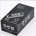 OCB Smoking Rolling Papers 70*45mm Black 50booklets