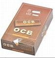 OCB Smoking Rolling Papers 78*44mm Black Brown Silver 25booklets/box