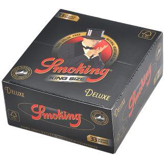 Smoking Rolling Papers 110*44mm Black Brown Silver 50booklets/box