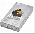 Smoking Rolling Papers 78*44mm Brown Black Silver 25booklets/box
