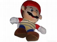 Plush toys-Mario, Lugi, Naruto etc