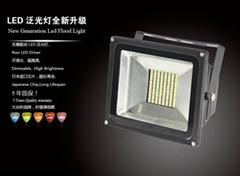 LED可调光泛光灯 投光灯-H