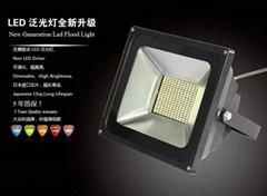 可調光LED氾光燈投光燈-HNS-FS150W