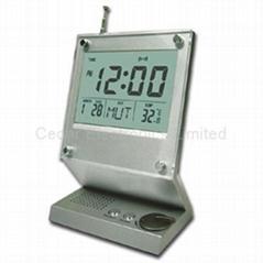 電子萬年曆收音機