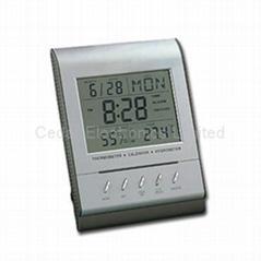 Jumbo Display LCD Calendar Weather Station Clock