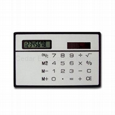 Card Size Calculator & E