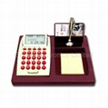 LCD Calendar Calculator on Stationery