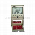 Desktop LCD Calendar Clock with Mirror and Calculator  1