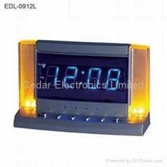 LED Alarm Clock with Night Light