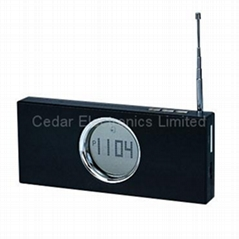 數碼鬧鐘FM收音機