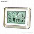 天氣預報萬年曆電子鐘