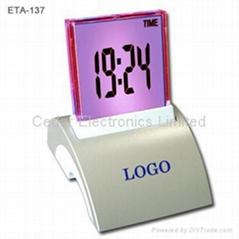 LCD Calendar Clock (Charming Light & Famous Music)