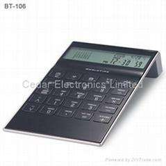 桌面型世界時間萬年曆計算器