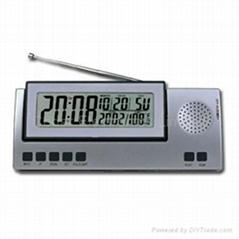FM Radio Clock with LCD