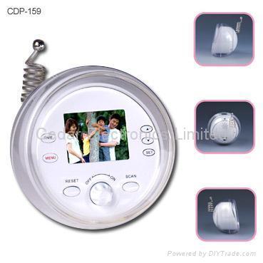 Digital Photo Frame with Radio and Calendar Clock 1