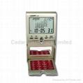 Desktop World Time Calendar Clock with Calculator 3