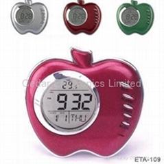 蘋果萬年曆時鐘