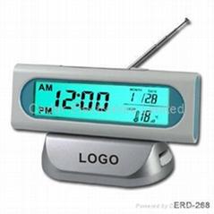 FM鐘控收音機