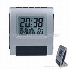 LCD Calendar Alarm Clock