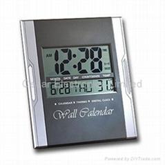 Jumbo Digital Calendar Clock