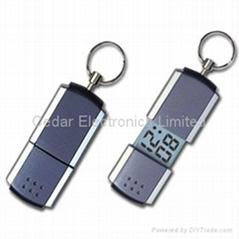 鑰匙扣電子表 (熱門產品 - 1*)
