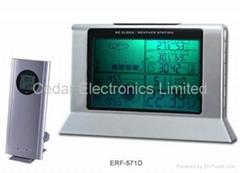 無線氣象站電波鐘 (熱門產品 - 1*)