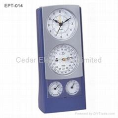 Analog Weather Station Clock