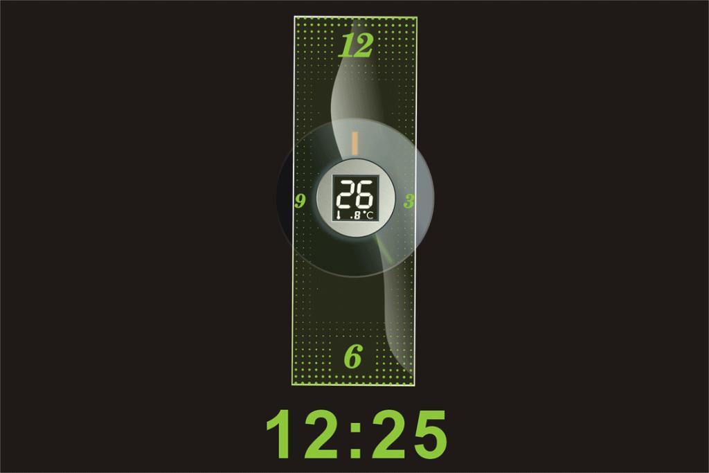 Sound Controll LED Flash Wall Clock 3