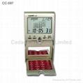 Deaktop Digital Calendar with Calculator & World Time Clock 3