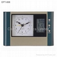 Sweep Table Alarm Clock with Digital