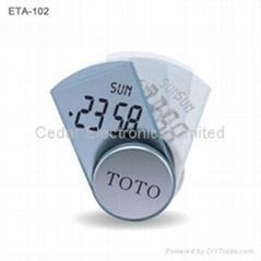 廣告禮品電子鐘(電子日曆和計時器)