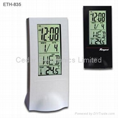 LCD Calendar Clock with