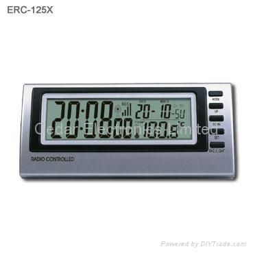 radio controlled alarm clock with digital calendar erc 129 china manufacturer clocks. Black Bedroom Furniture Sets. Home Design Ideas