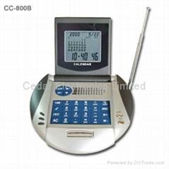萬年曆計算器收音機