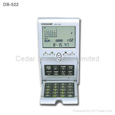 Desktop World Time Calendar Clock with Calculator 5