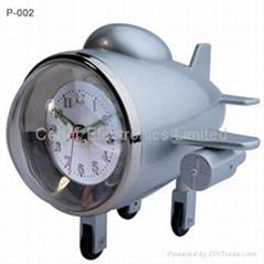 飛機金屬模型工藝鬧鐘