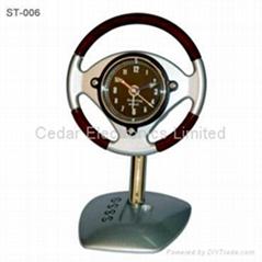 方向盤模型座鐘