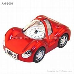 Car Model Metal Miniature Clock