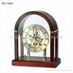 Classic Desk Skeleton Clock