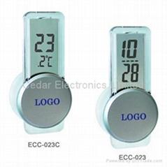 廣告禮品電子溫度計/ 計時器(迷你時鐘)