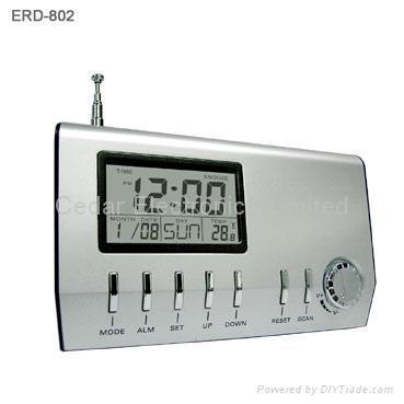 lcd calendar alarm clock radio eta 053 china manufacturer radio recorder av equipment. Black Bedroom Furniture Sets. Home Design Ideas