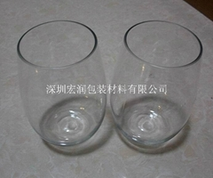 PET plastic glasses