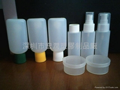 Travel Set plastic bottles