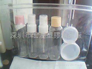 Travel Set plastic bottles 4