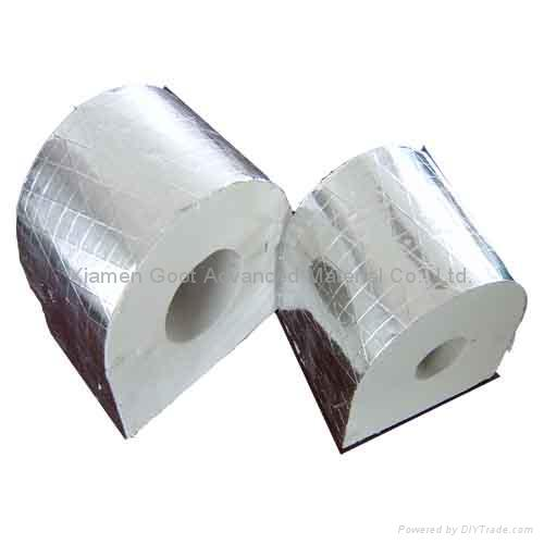 Heat Duct Supports : Phenolic foam pipe insulation support goot china